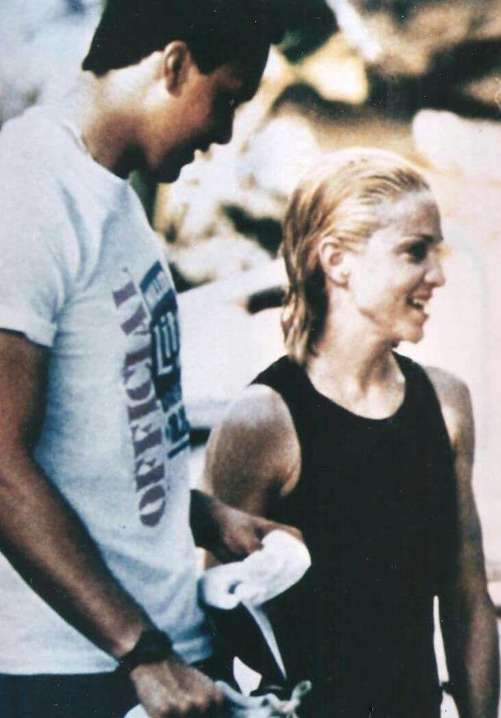 Rare photo of Madonna and boyfriend Jim Albright