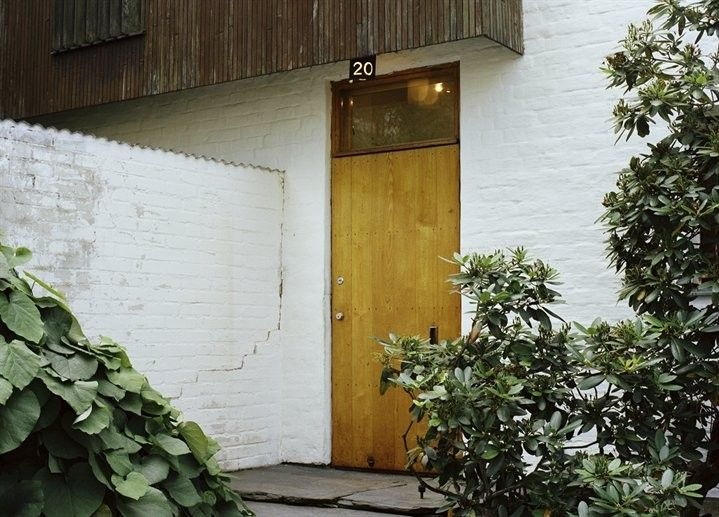Alvar Aalto Home in Helsinki, Photograph via Nowness