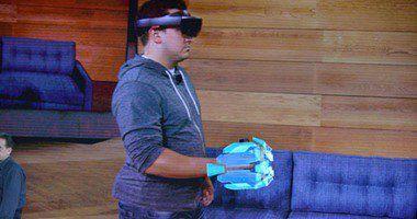 بالصور.. مايكروسوفت تكشف عن نظارة واقع افتراضى متطورة تدمجك داخل الألعاب - http://www.watny1.com/354820.html
