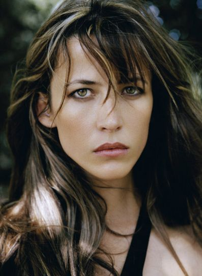Sophie Marceau (French actress since 1980 La Boum) (b. 1966 Nov 17) depicted by Lothar Schmid • also author/screenwriter/director • starred in Braveheart (1995) + Firelight (1997) + The World Is Not Enough (1999) • proof of the American, hm, French Dream: sublime beauty & career born from shop assistant mother Simone & truck driver dad Benoît Maupu, divorced when 9–could've easily fallen into depression as actress/singer Isabelle Adjani (b. 1955) • married to Christopher Lambert! 2012