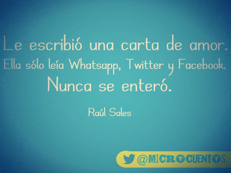 @microcuentos