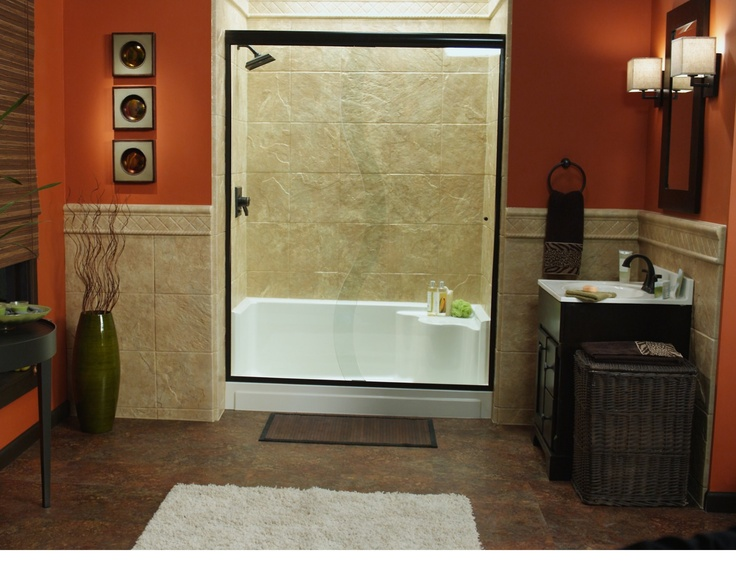 Tub To Shower Conversion Age In Place Re Bath Of Omaha Age In Place Bathroom Solutions