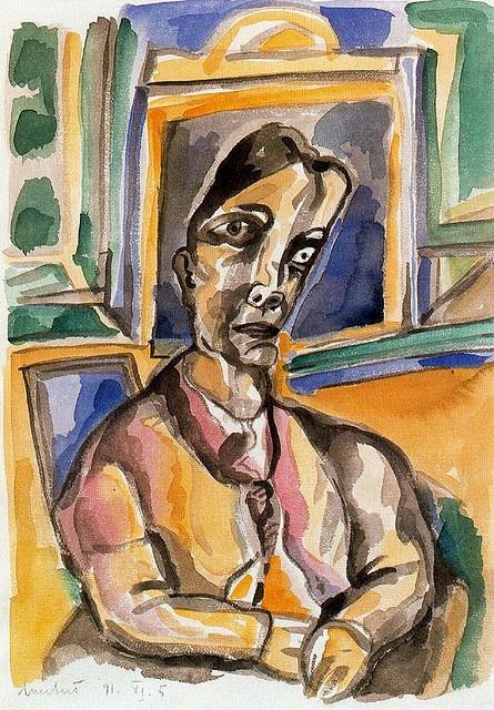 Lucebert (1924-1994) - 1991 Untitled (Tony Lucebert Swaanswijk Collection) by RasMarley, via Flickr