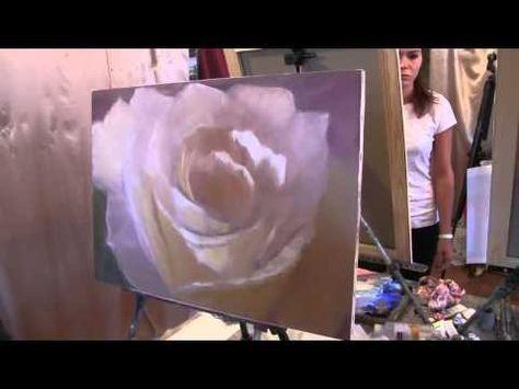 как мечтала видео как художник рисует розу на русском нас дома