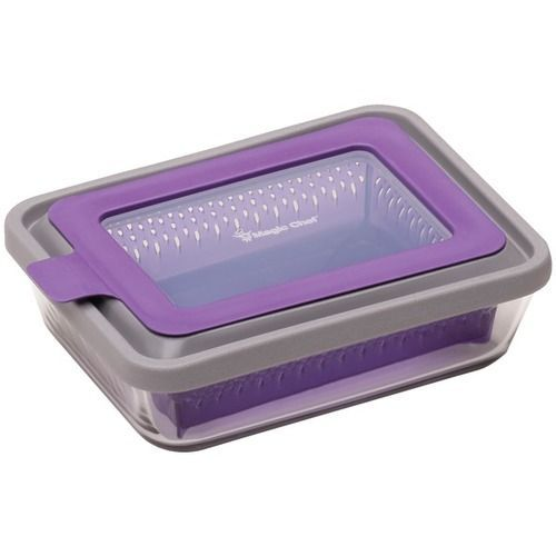 MAGIC CHEF MCMC6RPPL Magic Steam(TM) 6-Cup Microwave Cookware (Purple)