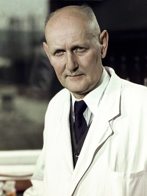 Prontosil, is the first systemically active antibacterial drug. It was discovered in 1933 by Gerhard Domagk.