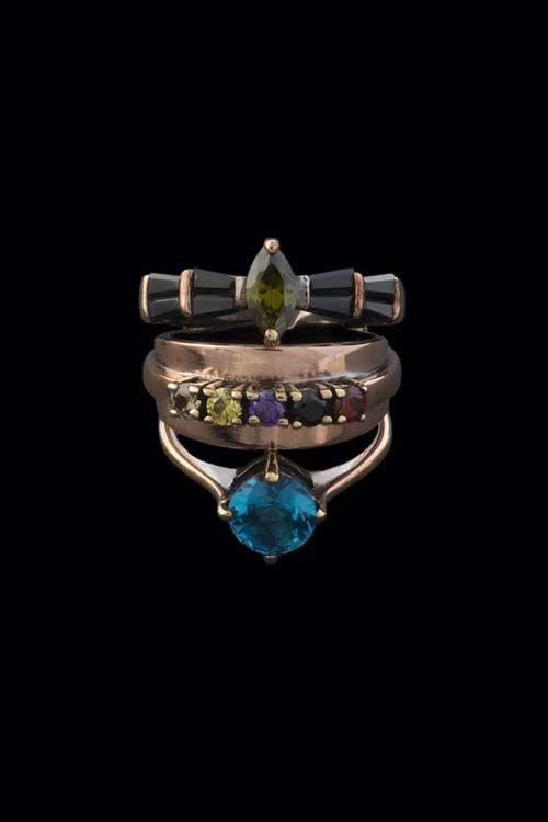 Mandala Multi Custom Ring  #IOSSELLIANI