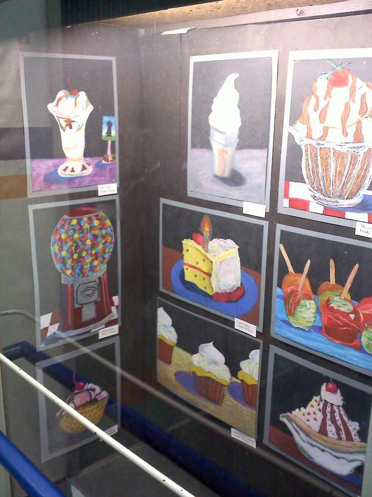 The smARTteacher Resource: Wayne Thiebaud oil pastel