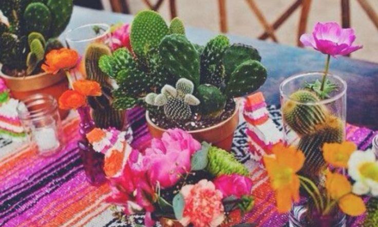 Zo maak je in een handomdraai van jouw 'gewone' tuin een Mexicaanse fiësta, met dit gezellige tuinfeest decoratie thema waan jij je even in de Caribbean.
