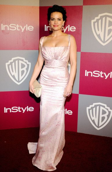 Carla Gugino Photos - 2011 InStyle/Warner Brothers Golden Globes Party - Arrivals - Zimbio