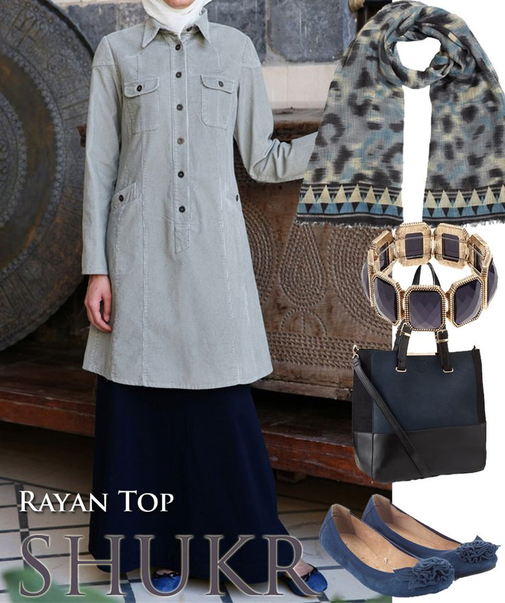 Shop the Look at SHUKR! The comfortable Rayan Top