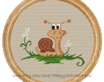 Cross Stitch Pattern PDF fox DD0076 by HappyStitches4You on Etsy