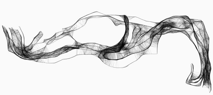 digital drawing 100x200cm