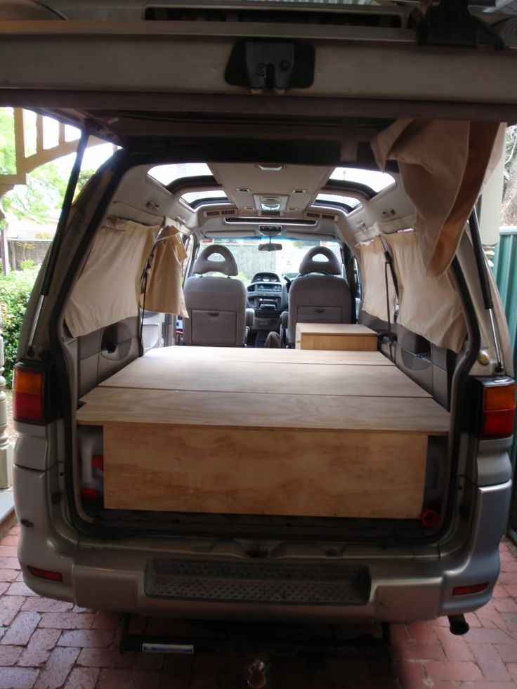simple garage conversion ideas - wood across Van Conversion