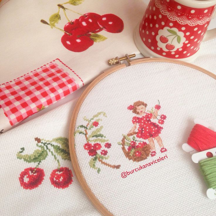 Veronique Enginger / Cherry Cross Stitch
