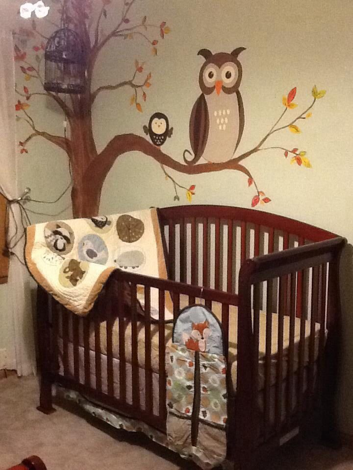 Forest Friends Nursery Bedding