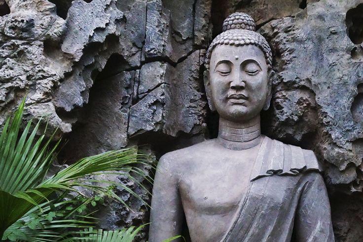 The facial expression of the #Buddha is just serene. #Sanya #Whererefreshingbegins #Culture#Buddha #Buddhism #ChineseCulture #Religion #ChineseReligion #Statue #StoneCarving #Art #SanyaRepin #SanyaHeartstoHearts