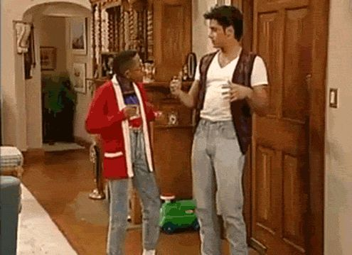 Pin for Later: Have Mercy! 27 Times You Adored Uncle Jesse When he helps Urkel with his moves.