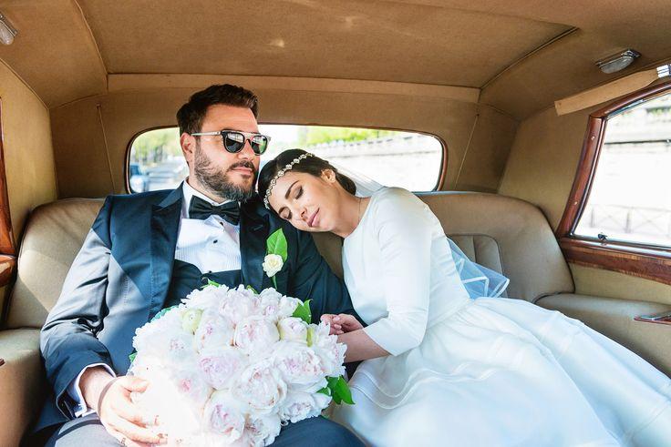 Wedding style - Rols Royce - My Dream Intimate Wedding In Paris