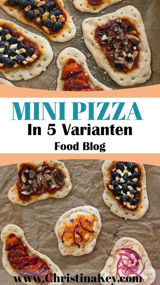 Rezept Idee - Mini Pizza in 5 leckeren Varianten - Jetzt Geschmacksexplosion erleben! - Entdecke weitere Rezepte auf CHRISTINA KEY - dem Food, Fashion und Fotografie Blog aus Berlin