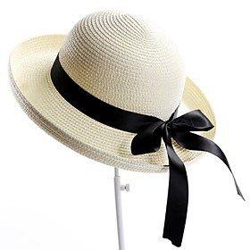 Women's Beach Hat Curling Dome Fisherman Hat