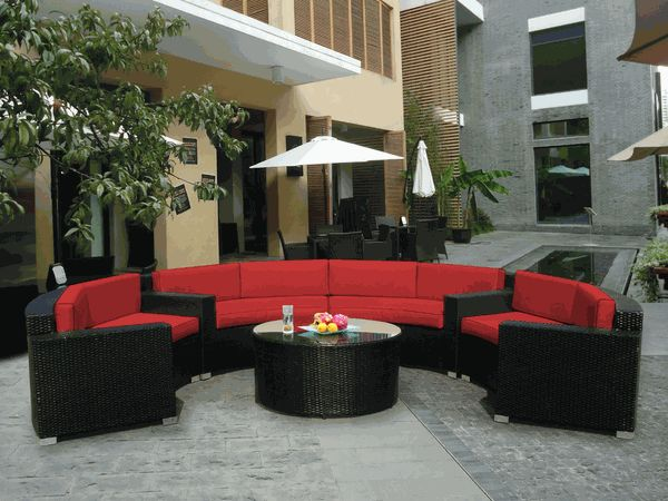 patio couch set beautiful ohana outdoor patio wicker furniture sectional  pc couch set