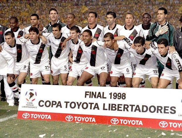 Time Campeão da Libertadores de 1998