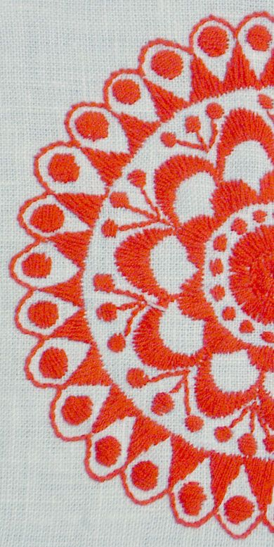 Brodera Delsbosöm | Swedish Delsbo embroidery, folklore technique and patterns #embroidery