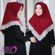 Jilbab Bergo Terbaru Renda Cantik Modern Yumna