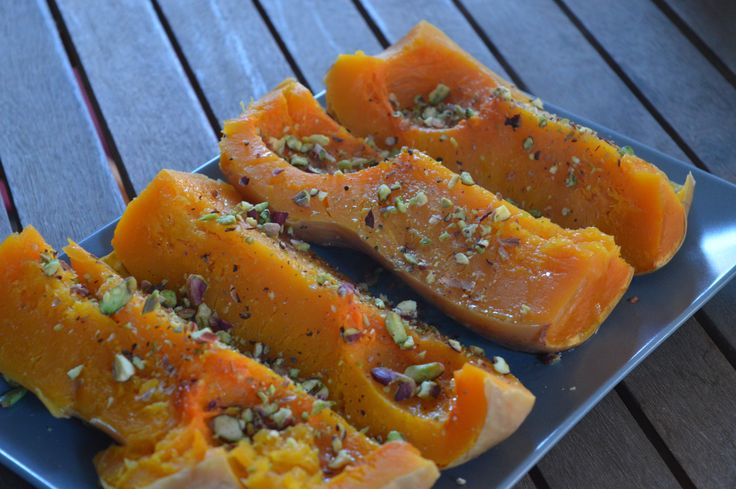 Oven Roasted Sweet Pumpkin