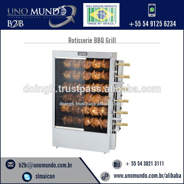Rotisserie Chickens BBQ Grill Available for Sale