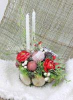 Gallery.ru / Фото #173 - Интерьер, искусственные цветы - ElenaFranskevich