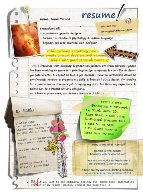 15 best bad resumes images on Pinterest