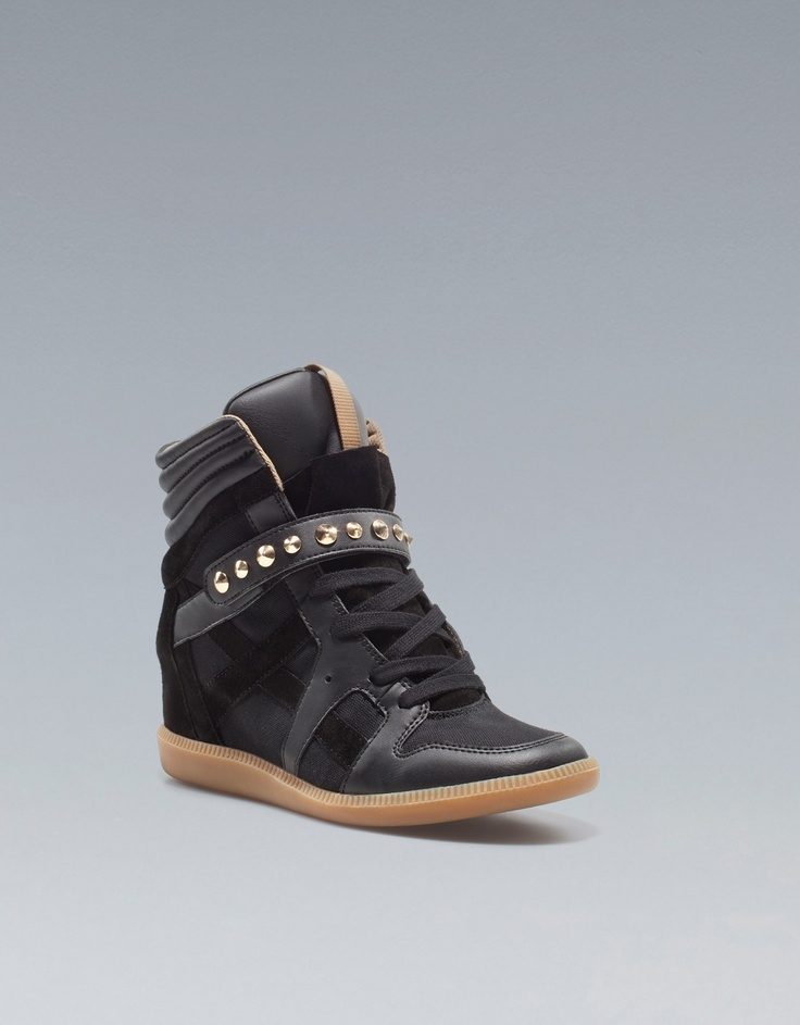 STUDDED SNEAKER - Ankle boots - Shoes - Woman - ZARA United States