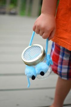 Easy Upcycled Bug Catchers!  A Nest for All Seasons