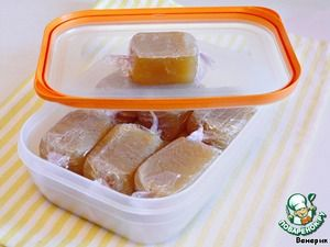 Куриные кубики домашнего приготовления