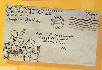 Charles Schulz mail art