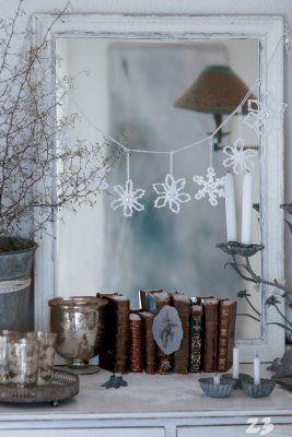 En jule / vinter foto nedtællings advent kalender der kan bruges igen og igen , til at komme i julestemning.
