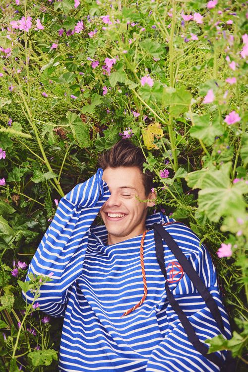 Harry Styles for Another Man Magazine (Photography by Ryan McGinley)