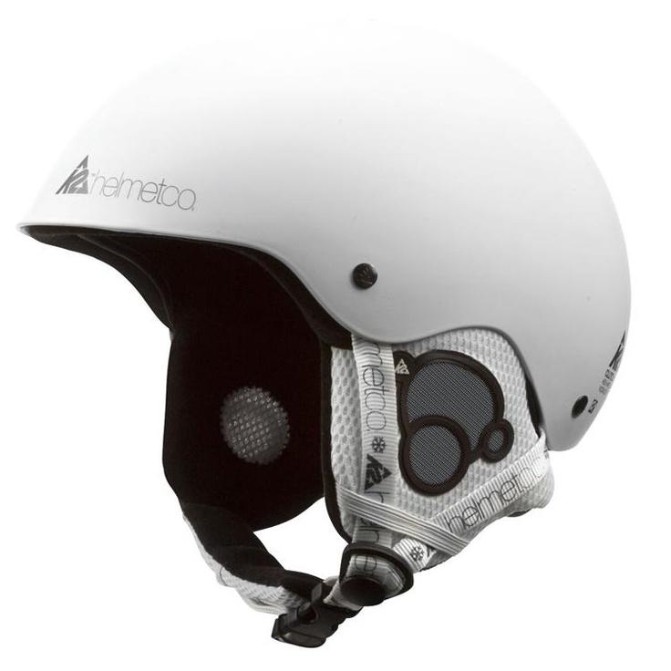 K2 Clutch White Ski Helmet