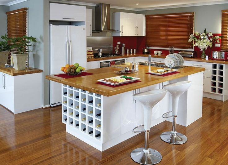the practical entertainer: kaboodle kitchens
