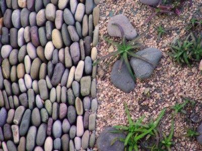 Decoracion y Casa: Jardines decorados con piedra