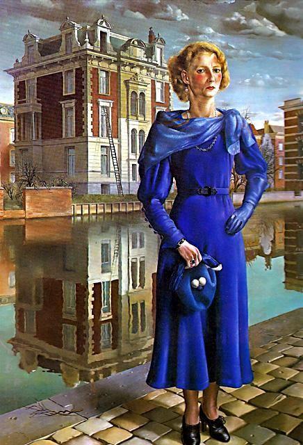 """Carel Willink's """"Blauwe Wilma"""""""