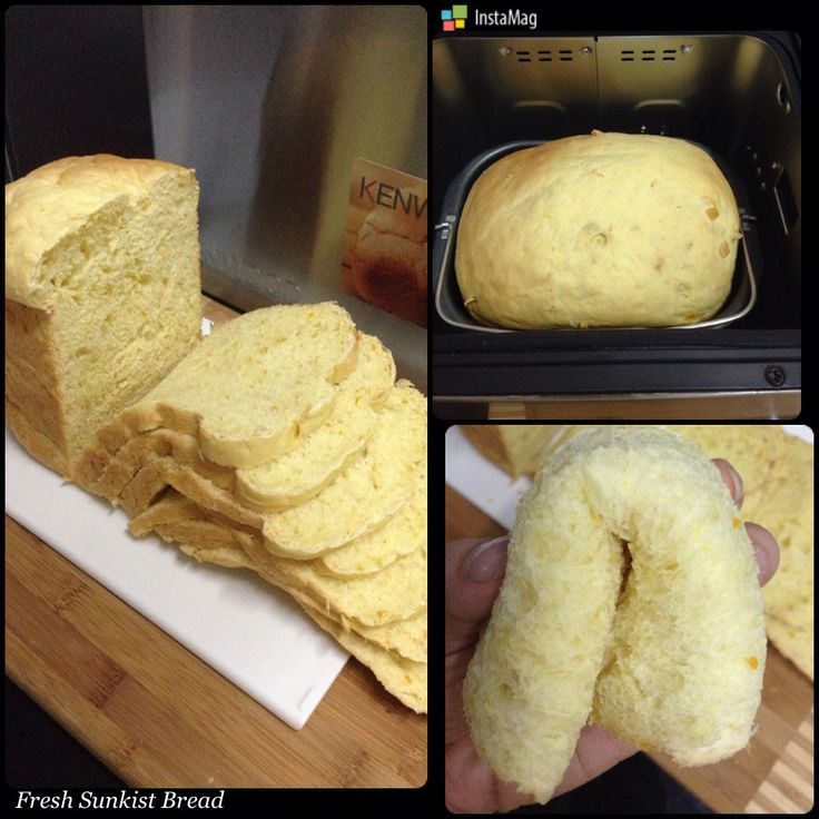 Fresh sunkist bread