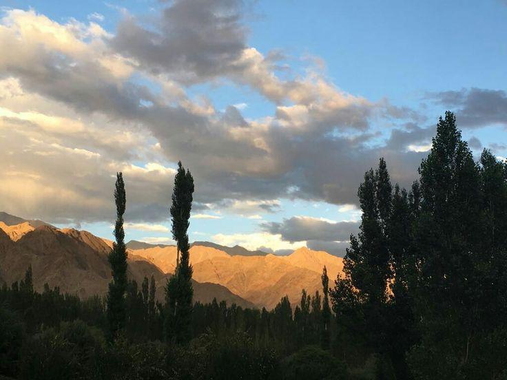 Sunset in Leh
