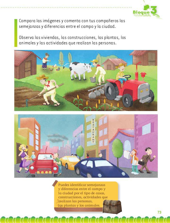 Exploración de la Naturaleza y la Sociedad-El campo y la ciudad-Página 75