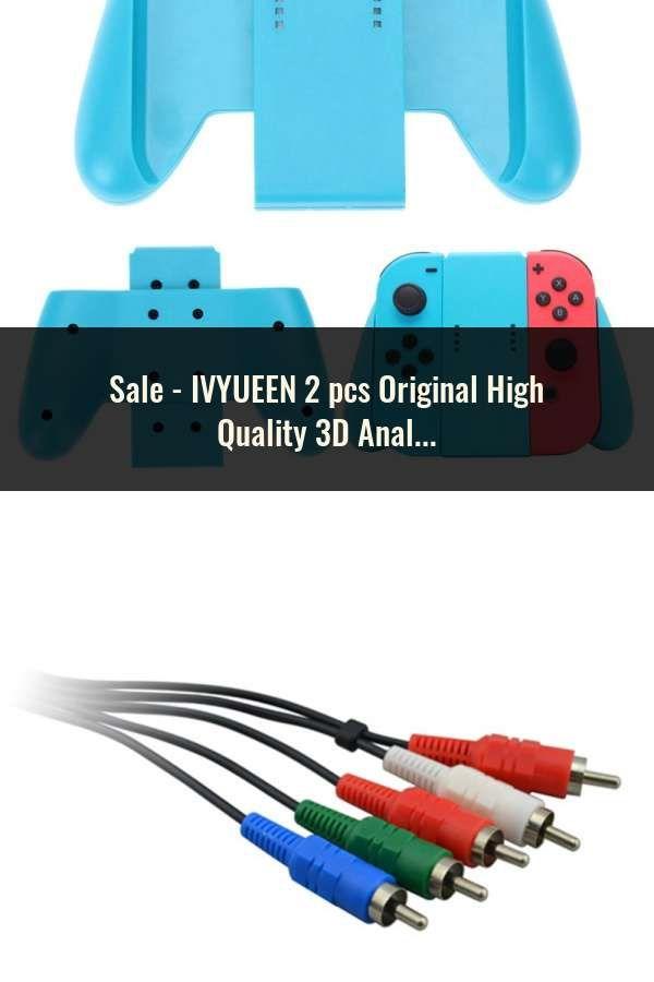 Ivyueen 2 Pcs Original High Quality 3d Analogue Thumbsticks For