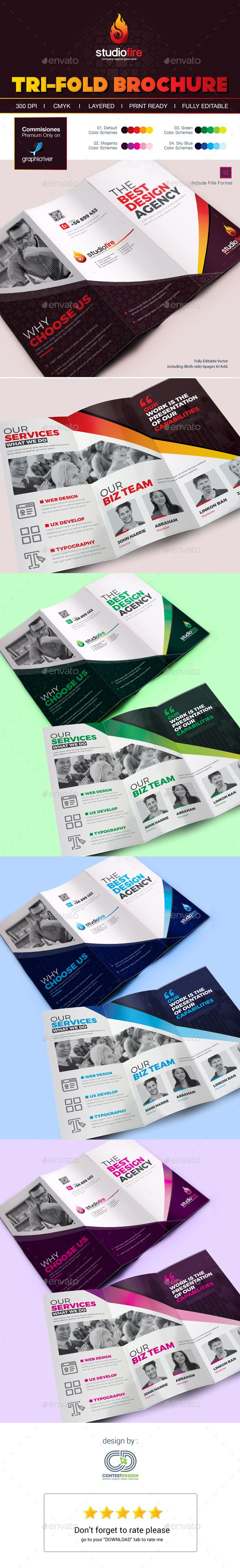 1000 images about workbook design on pinterest corporate brochure design project proposal for Tri fold template indesign