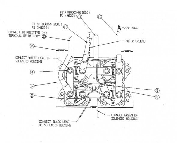 traveller winch wiring diagram  atv winch diagram winch
