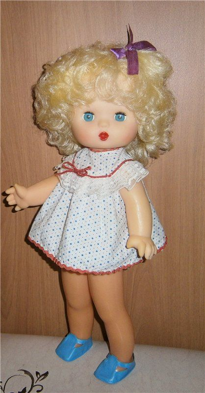 """Кукла СССР """"8 марта"""". / Куклы детства / Шопик. Продать купить куклу / Бэйбики. Куклы фото. Одежда для кукол"""
